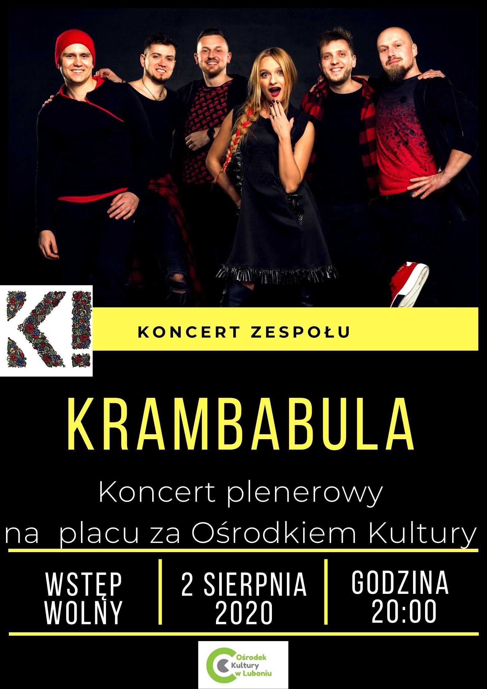 Koncert zespołu KRAMBABULA