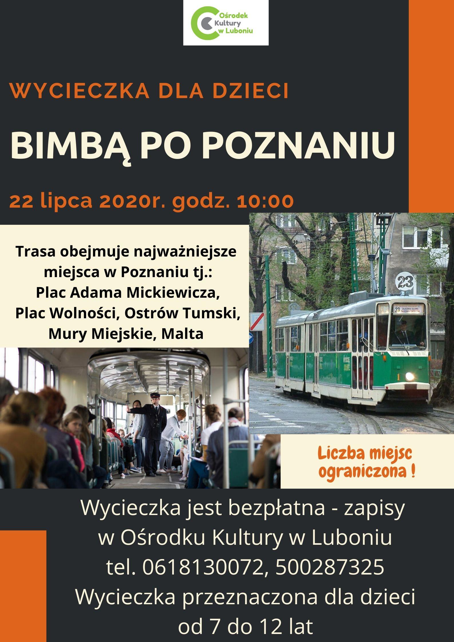 Wycieczka Bimbą po Poznaniu