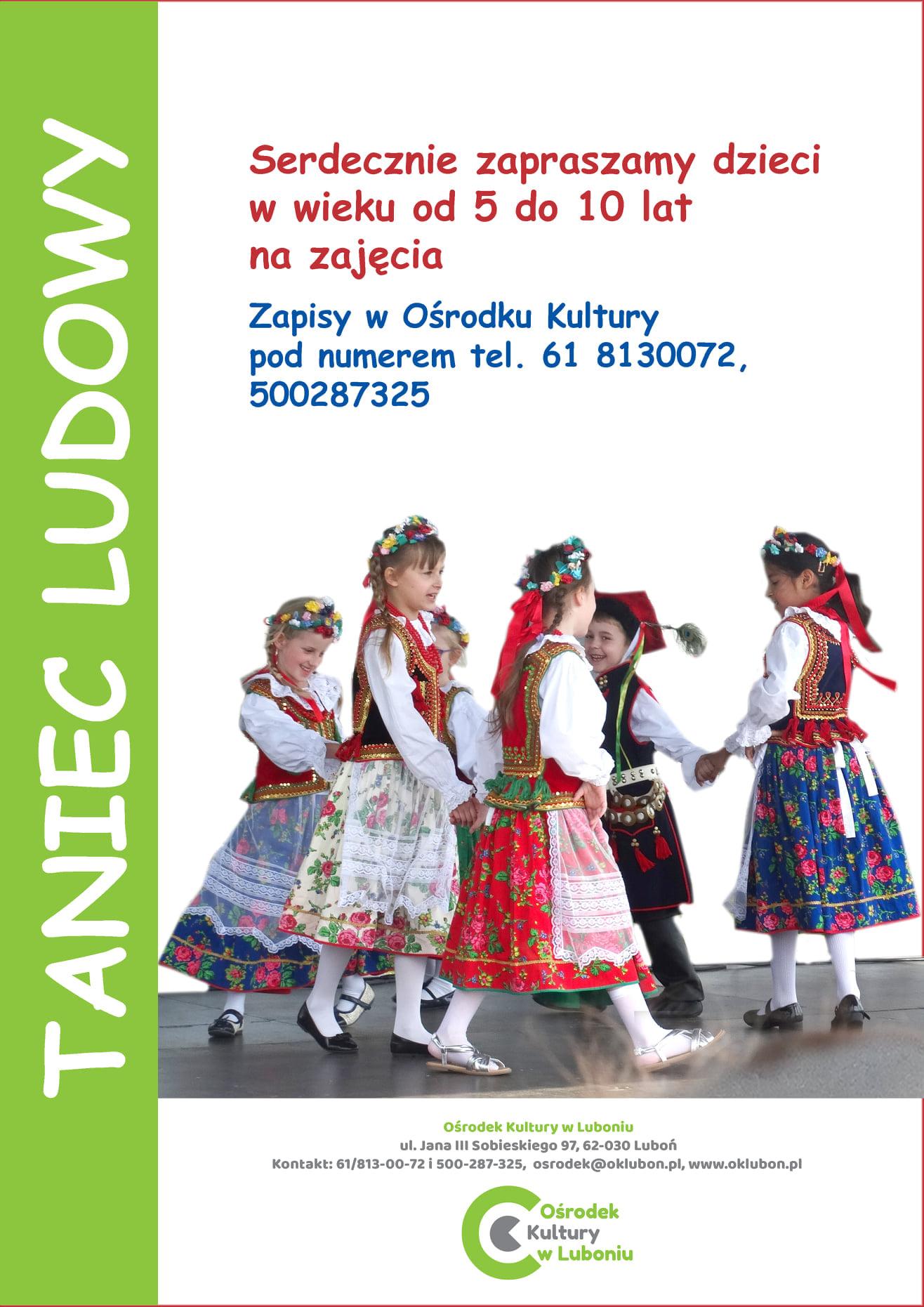 zajęcia Tańca Ludowego