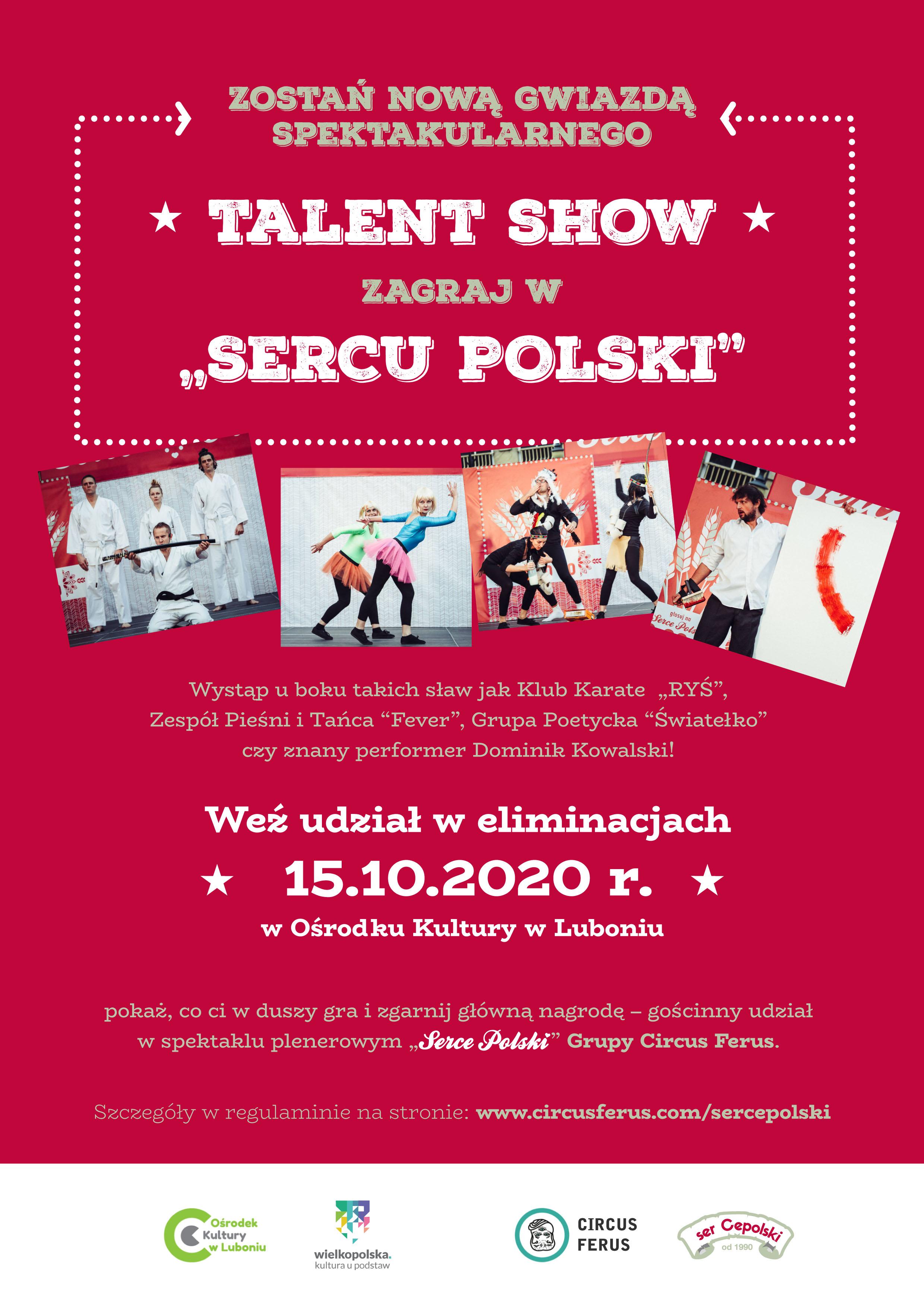 "Talent show ""Serce Polski"""