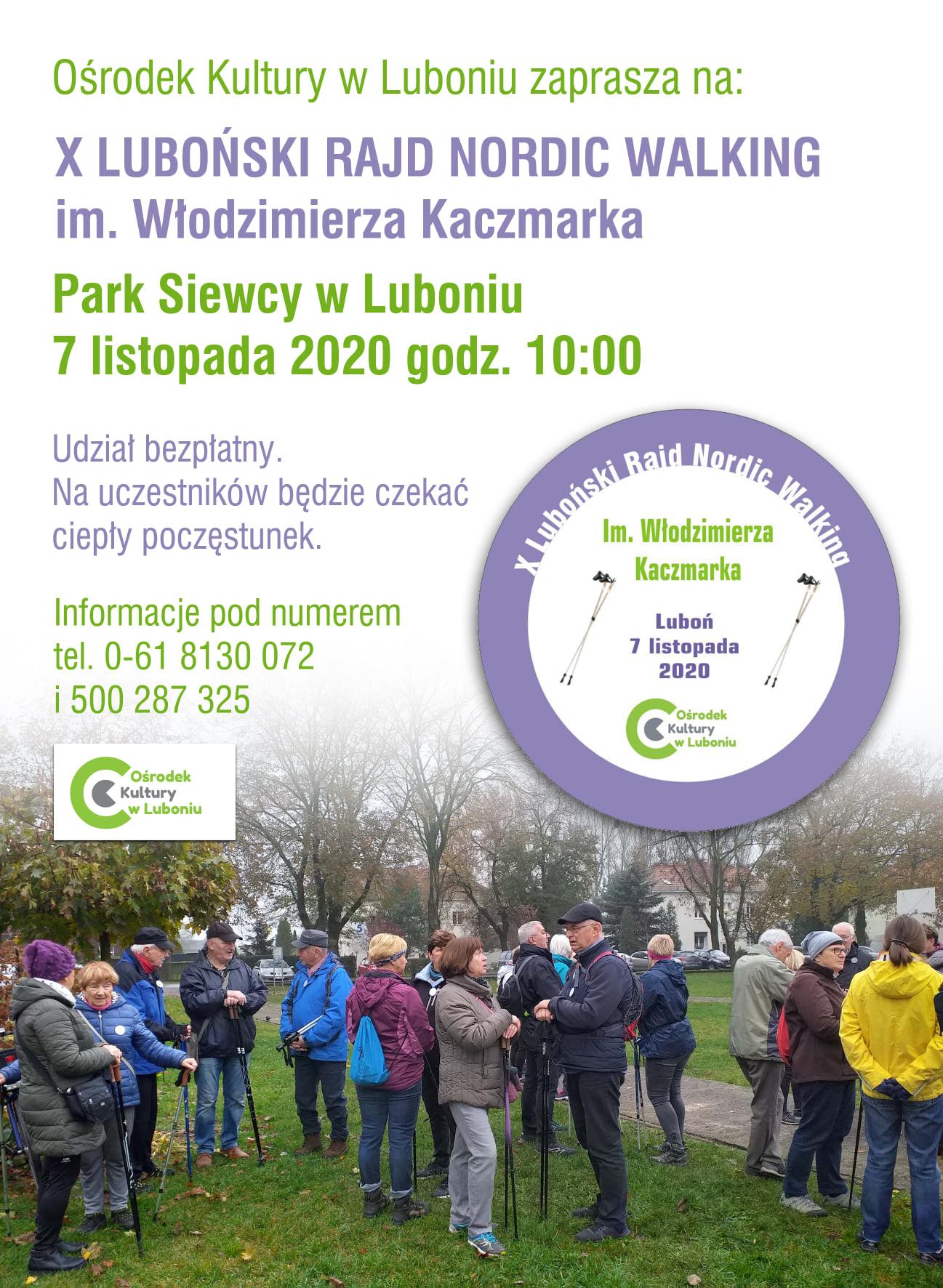 X Rajd Nordic Walking im. Włodzimierza Kaczmarka