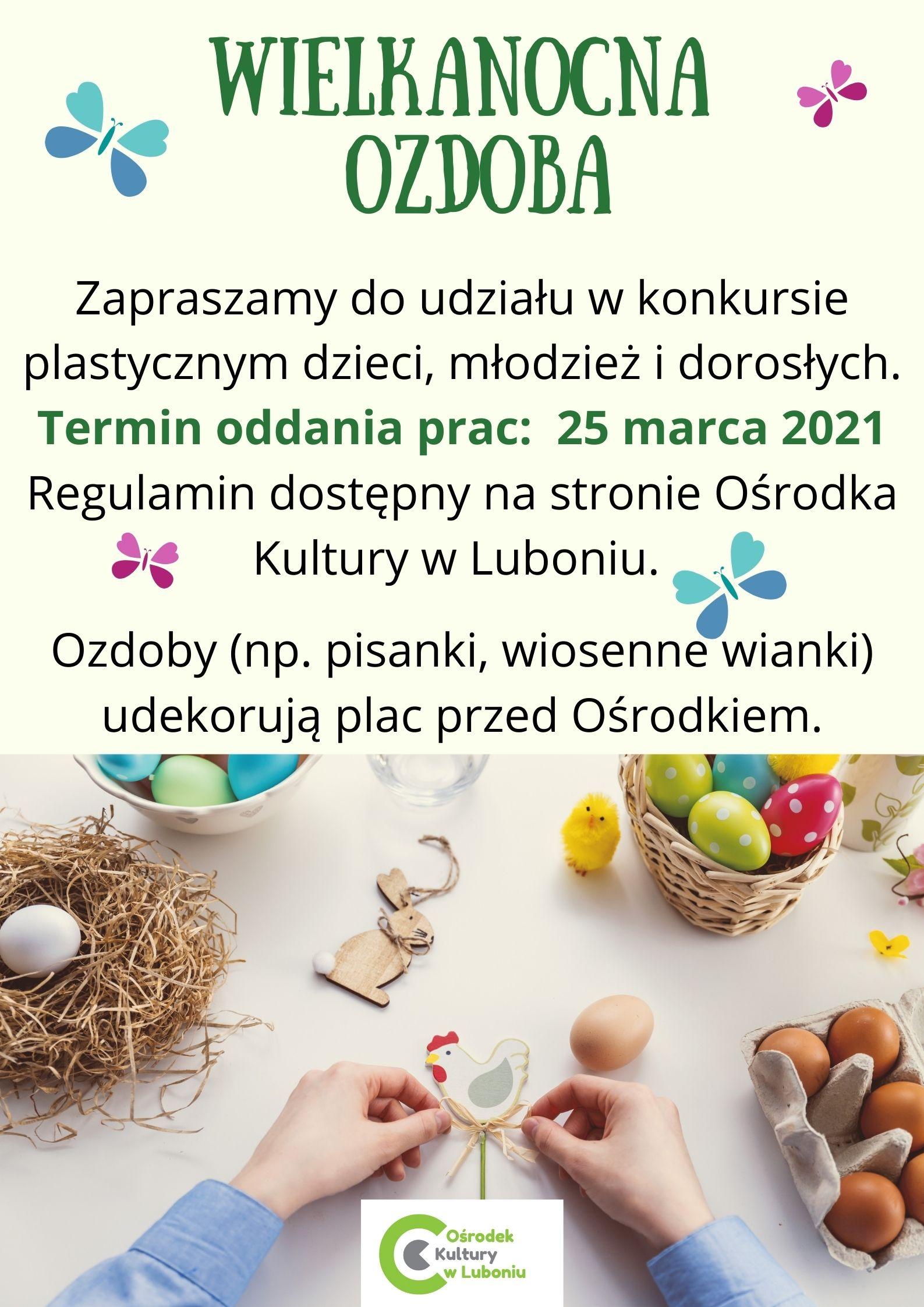 Konkurs - Wielkanocna ozdoba