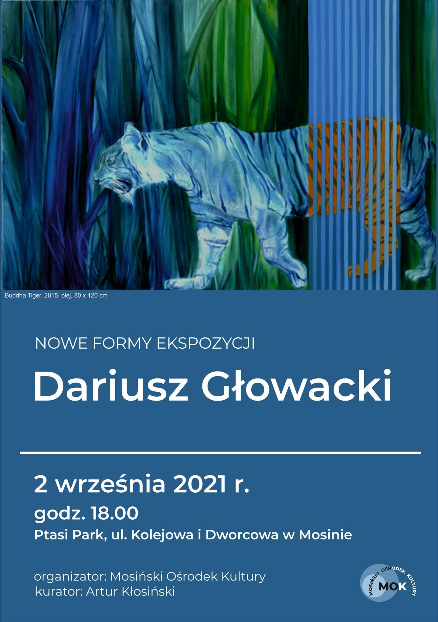 Wystawa prac dr Dariusza Głowackiego