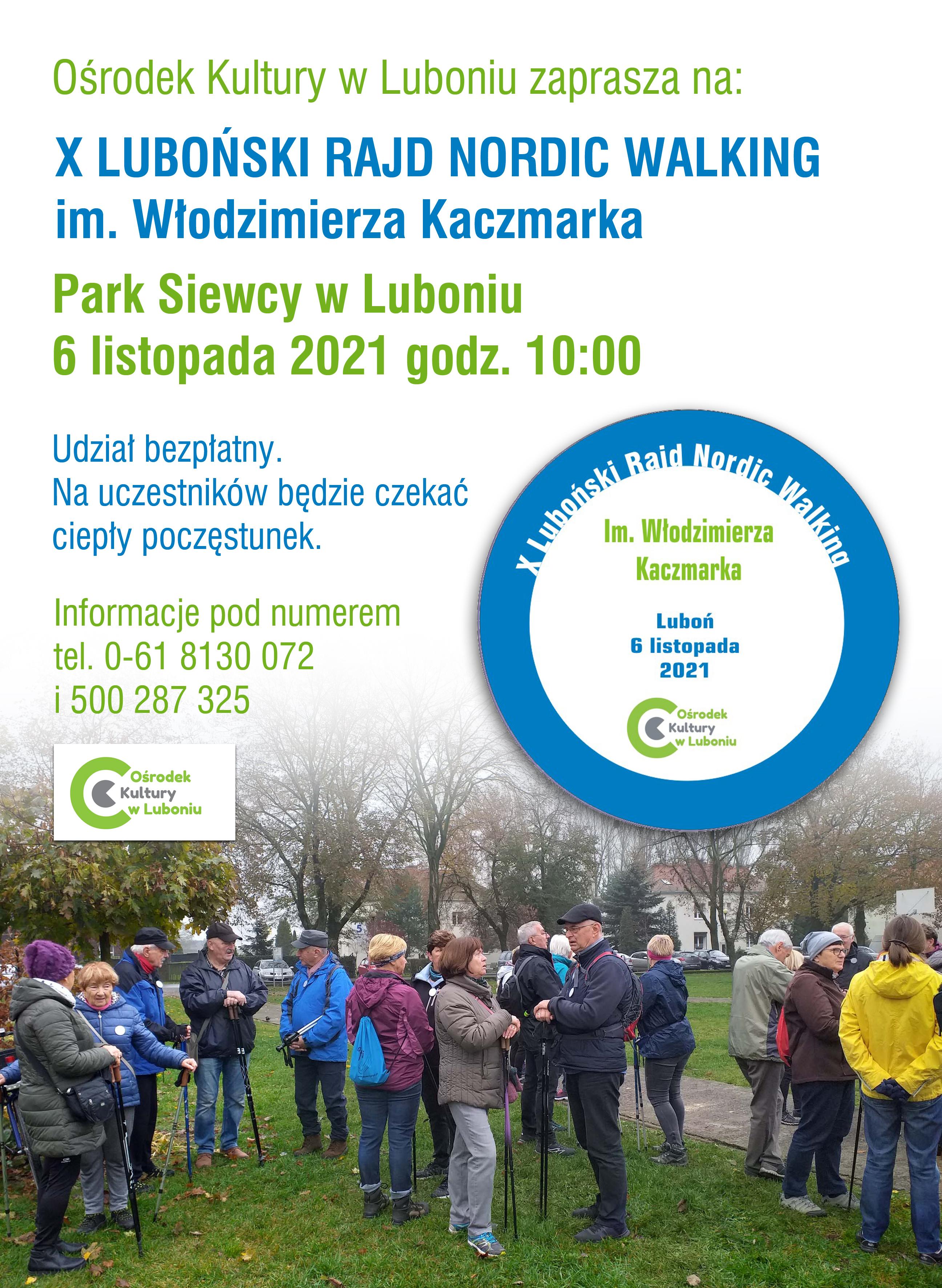 X Luboński Rajd Nordic Walking