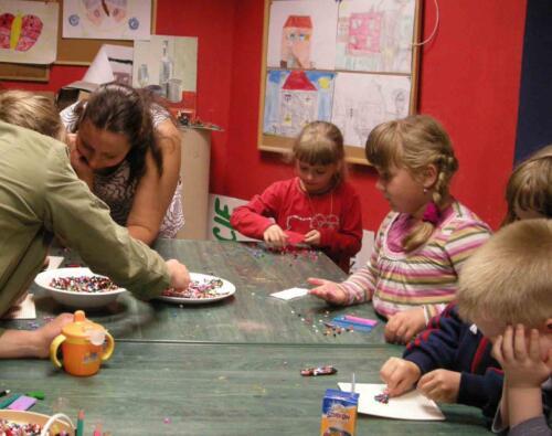 Na zajęciach plastycznych 2009