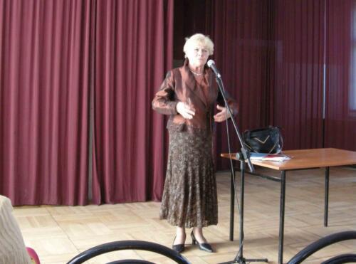 Spotkanie z Teresą Lipowską 2009