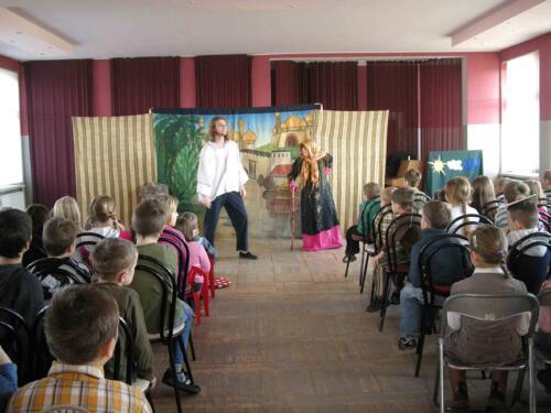 Teatrzyk dla dzieci listopad 2009