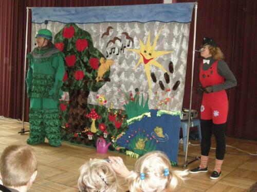 Teatrzyk dla dzieci maj 2009