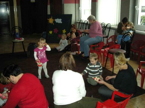 Tuptusie - zajęcia dla najmłodszych 2009