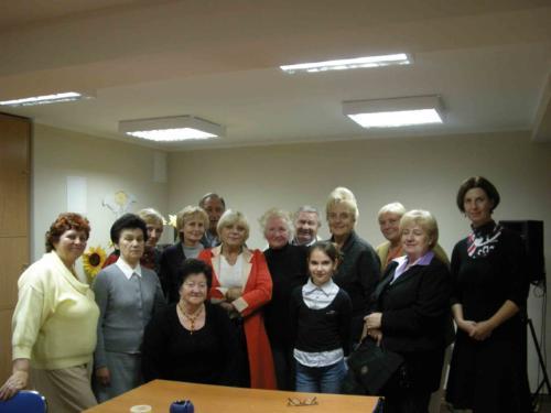 Spotkanie z Dorotą Stalińską 2010