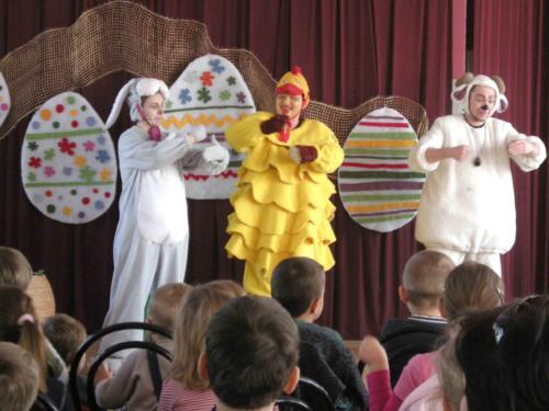 Teatrzyk dla dzieci kwiecień 2010