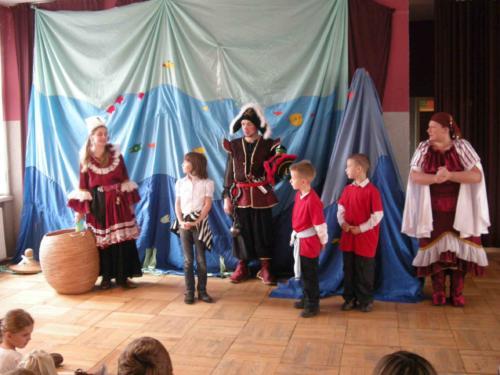 Teatrzyk dla dzieci październik 2010