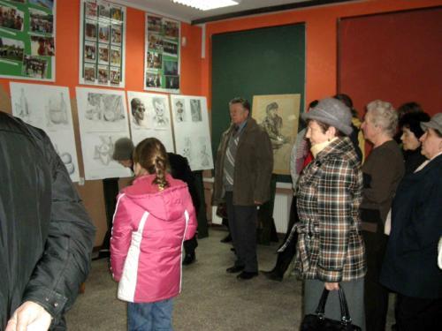 """Wystawa """"Przygoda ze sztuką"""" 2010"""