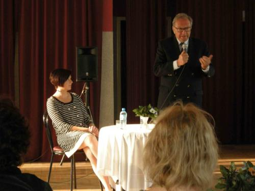 Krzysztof Zanussi w Ośrodku Kultury 2011