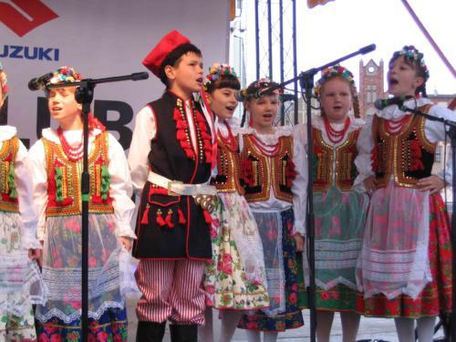 Lubonie na Jarmarku Wielkanocnym w Poznaniu 2011
