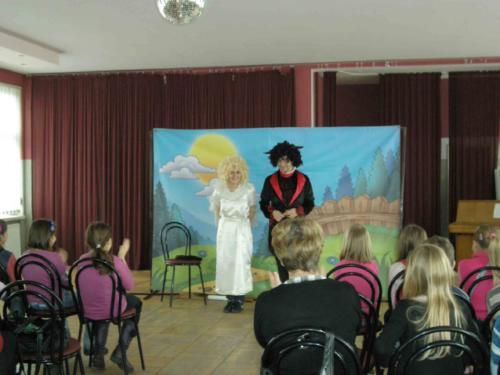 Teatrzyk dla dzieci grudzień 2011