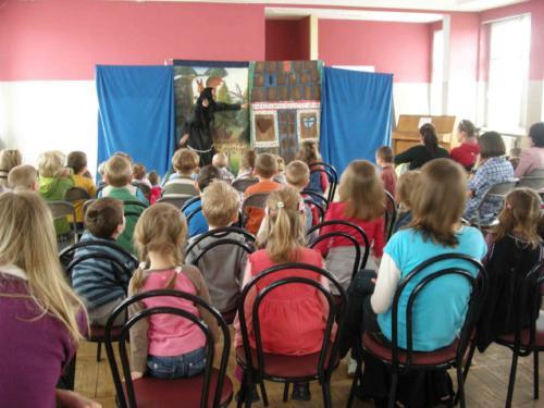 Teatrzyk dla dzieci kwiecień 2011