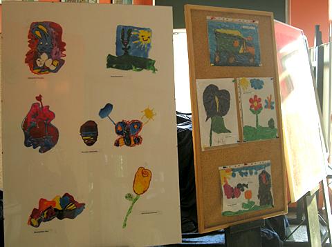 Wystawa prac dzieci 2011