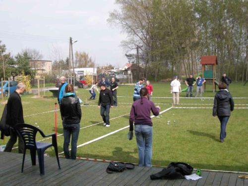IX Turniej w Boules 2012