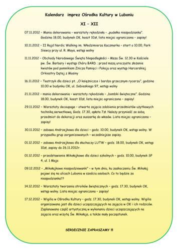 KalendarzimprezXI-XII2012