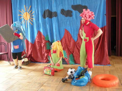 Teatrzyk dla dzieci 10 maja 2012