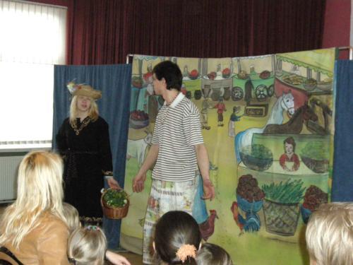 Teatrzyk dla dzieci luty 2012
