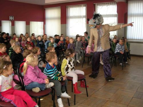 Teatrzyk dla dzieci marzec 2012