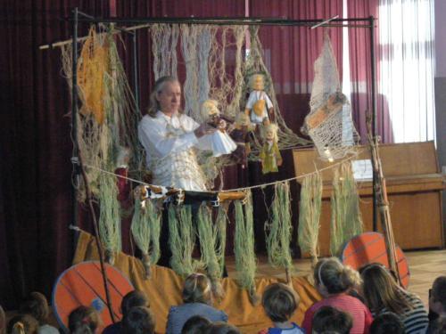 Teatrzyk dla dzieci październik 2012