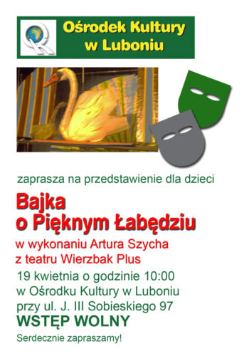 Teatrzyk dla dzieci kwiecień 2013