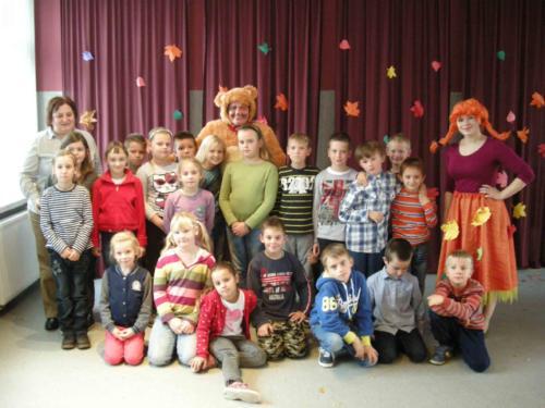 Teatrzyk dla dzieci październik 2013