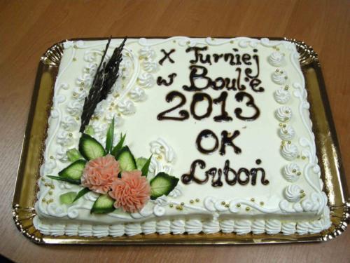 X Turniej w Boules o Puchar Burmistrza Miasta Luboń 2013