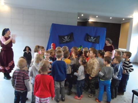 Teatrzyk dla dzieci listopad 2014