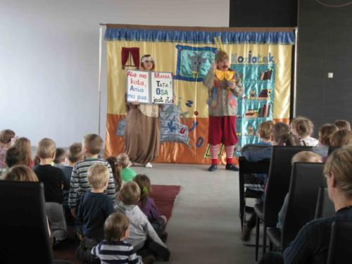 Teatrzyk dla dzieci luty 2014