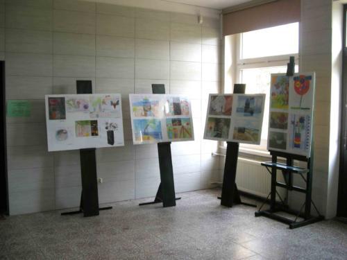 Wystawa prac plastycznych dzieci 2014