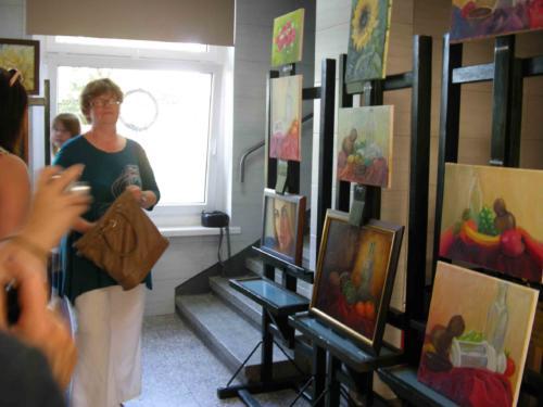 """Wystawa """"Lubię malować, lubię rysować..."""" 2014"""
