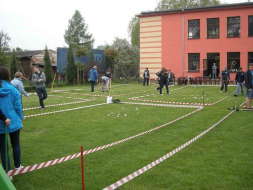 XI Turniej w Boules o Puchar Burmistrz Miasta Luboń 2014