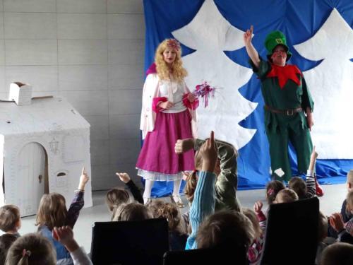Teatrzyk dla dzieci luty 2015