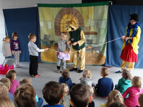 Teatrzyk dla dzieci październik 2015