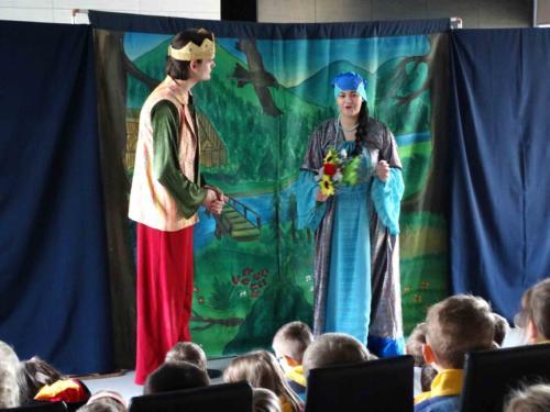 Teatrzyk dla dzieci styczeń 2015