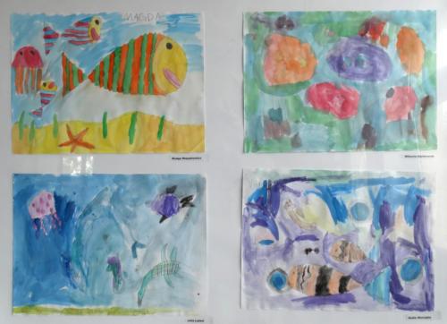 Wystawa prac plastycznych dzieci 2015