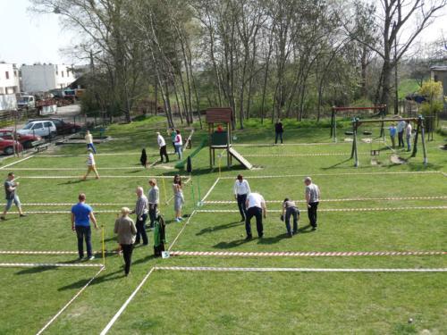 XII Turniej w Boules o Puchar Burmistrz Miasta Luboń 2015