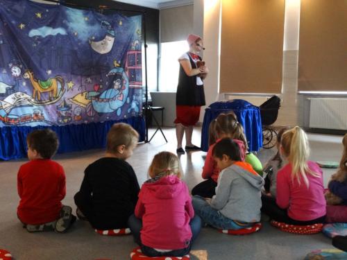 Teatrzyk dla dzieci październik 2016