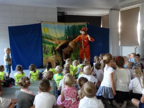 Teatrzyk dla dzieci wrzesień 2016