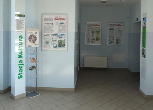 """Wystawa """"Prasa i media w Luboniu"""" na Stacji Kultura 2016"""
