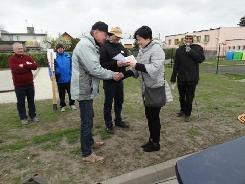Turniej w Boules o Puchar Burmistrz Miasta Luboń 2017