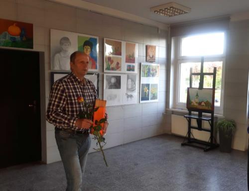 Wystawa Ryszarda Walli 2018