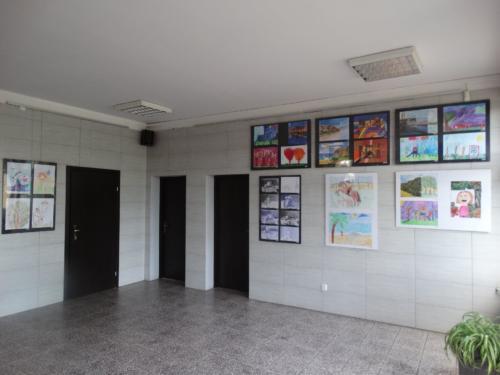 Wystawa prac plastycznych dzieci 2018