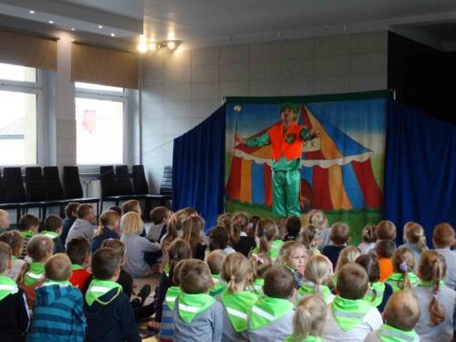 Teatrzyk dla dzieci październik 2019