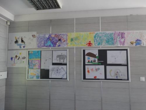 Wystawa prac plastycznych dzieci 2019